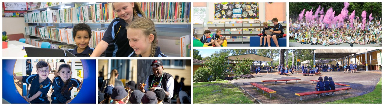 A range of photographs from Elermore Vale Public School